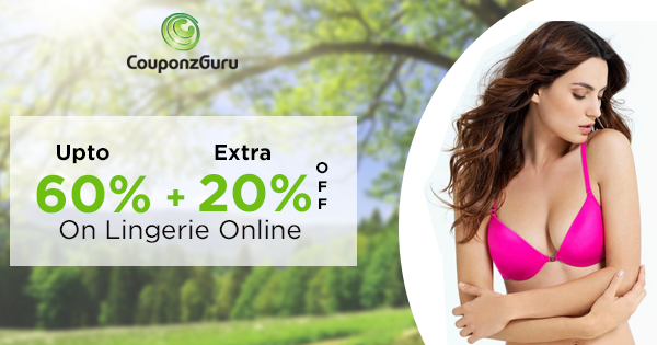 Get up to 60% discount on lingerie at #zivame, #prettysecrets and for more offer and coupons #couponzguru & http://bit.ly/XE8Ruv