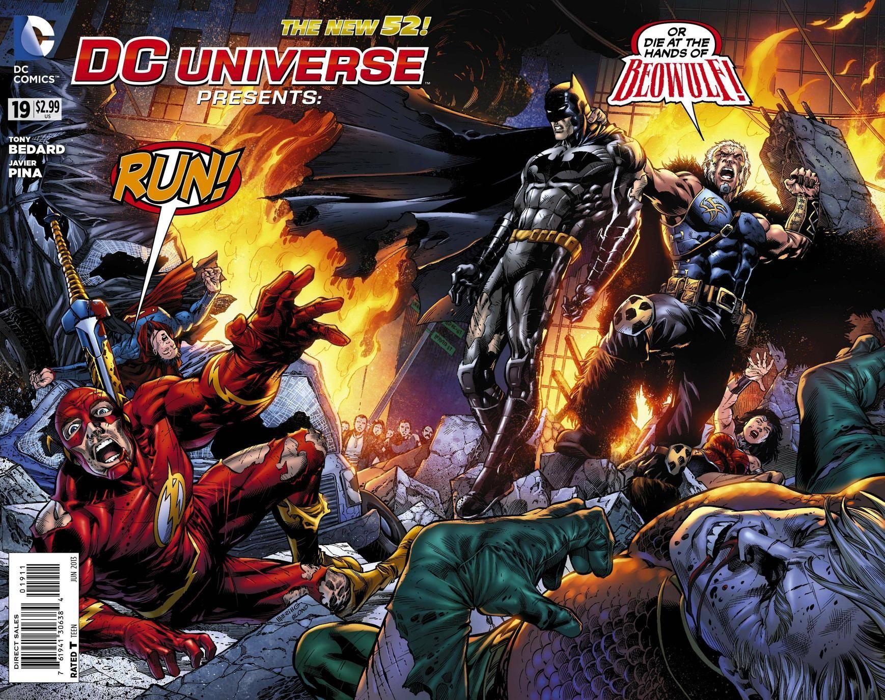 DC COMICS PRESENTS 19 by Jesus Merino Dc universe