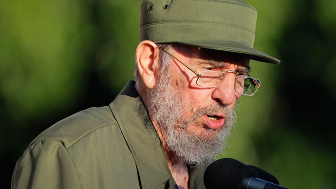 Former Cuban leader Fidel Castro (Reuters / Desmond Boylan) #cubanleader Former Cuban leader Fidel Castro (Reuters / Desmond Boylan) #cubanleader