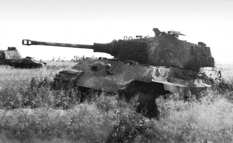 Kingtiger Wreck, Henschel Turret