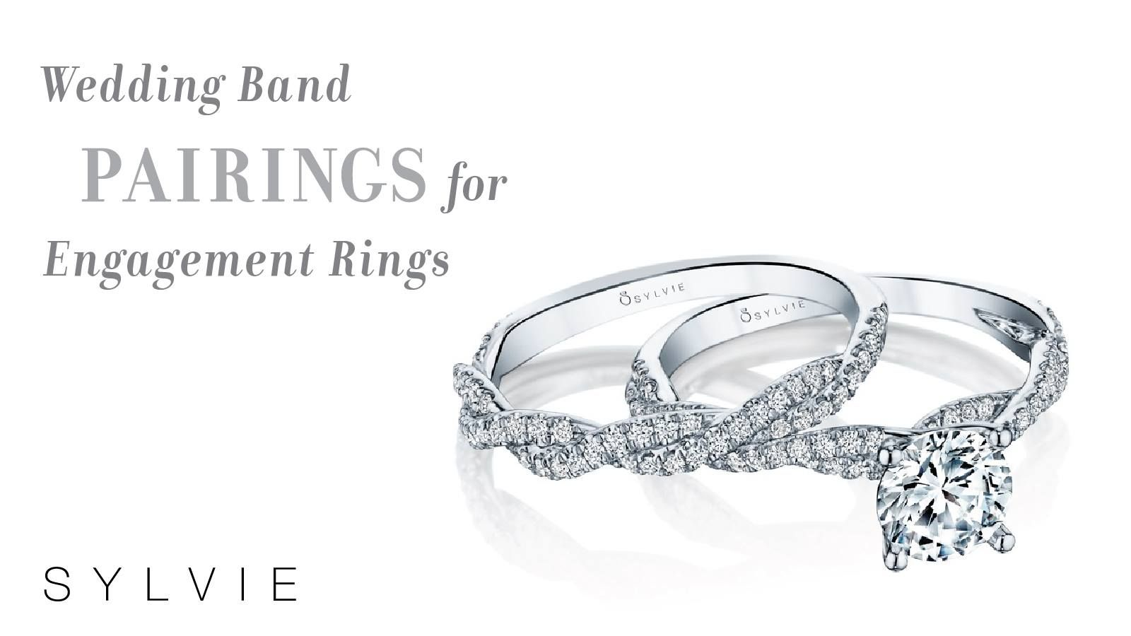 Shop Sylvie For Your Perfect Match Wedding Band Engagement Rings Engagement Wedding Bands