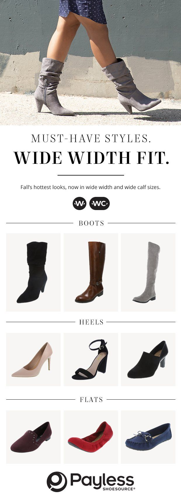 9df15c6fa98 Find wide width shoes for women at payless we always have a variety jpg  620x1709 Payless