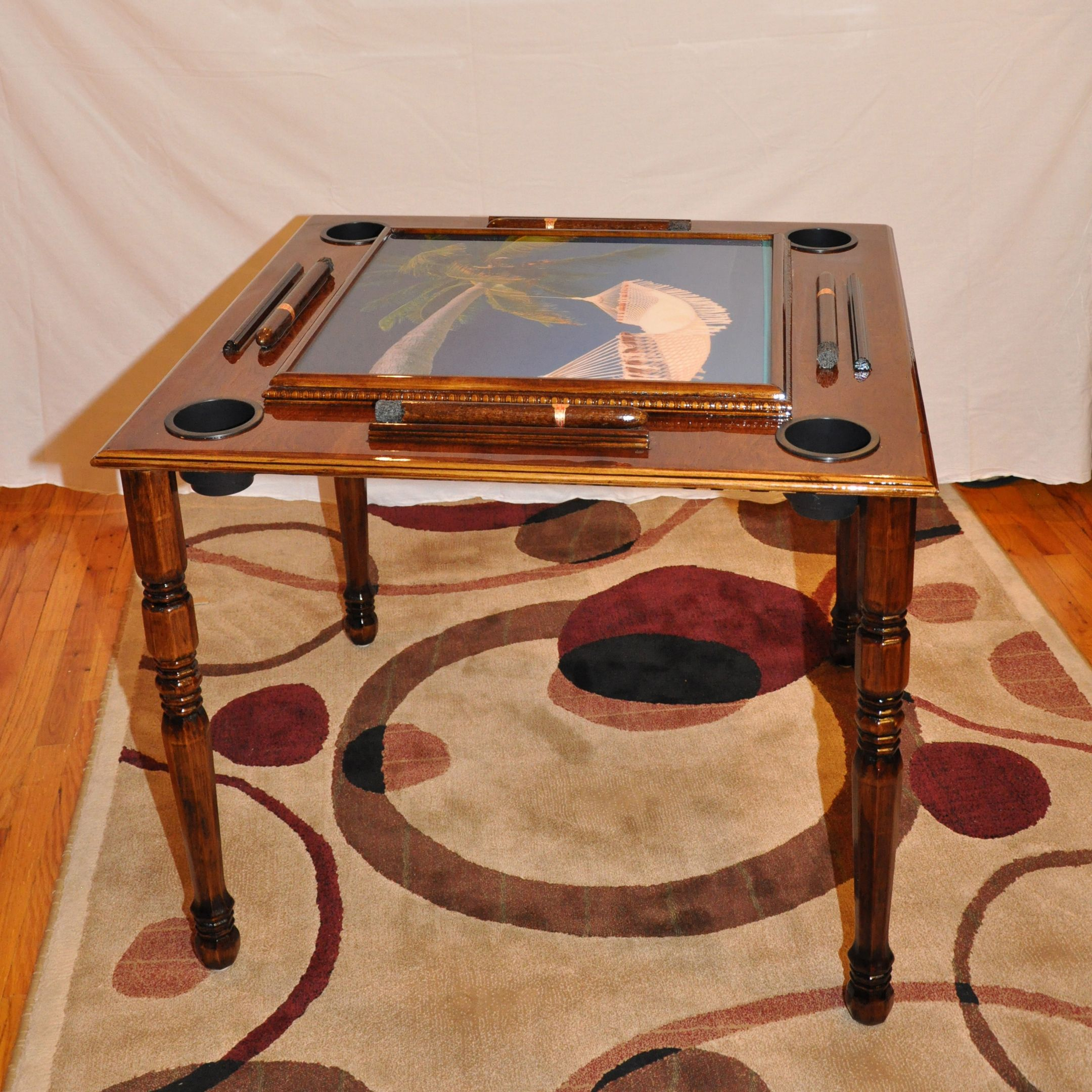 This gorgeous domino table will be going out to its new