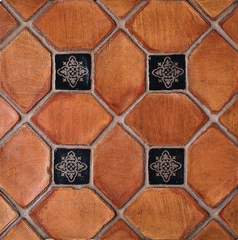 Picket Ohs Glazed Terracotta Tiles 3x5 Tiles Terracotta