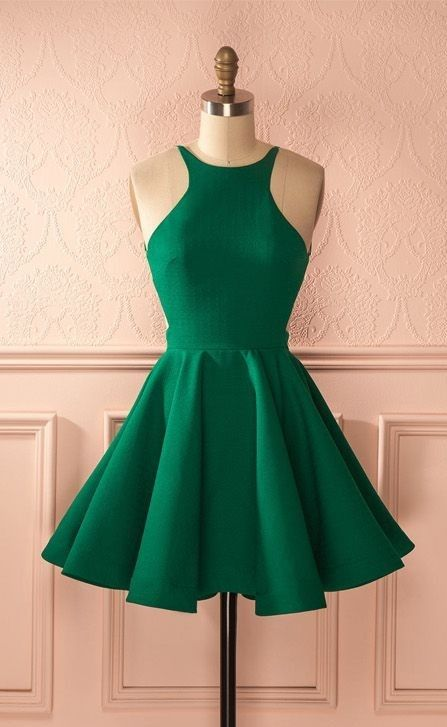 Green Sleeveless Homecoming Dresses Backless Ruffles Cocktail Dress - Backless homecoming dresses, Green prom dress, Green homecoming dresses, Backless prom dresses, Sexy prom dress, Prom dresses short - inch Normally our dress processing time is about 714 days, and the shipping time is about 35 days  If you need it urgently, please contact us to check out whether we can rush the order for you  Our email is yaydressy@outlook com
