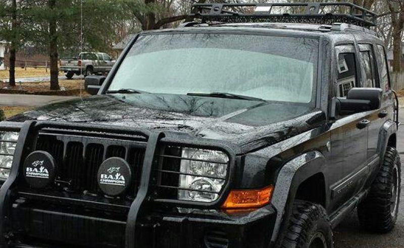 Custom Jeep Commander Roof Rack Roofing Shingles For