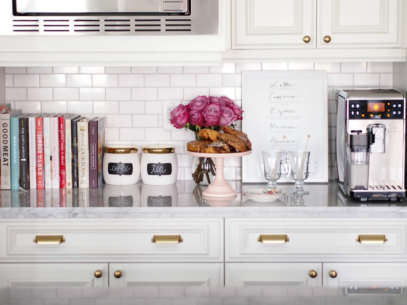 Decorating Kitchen Cabinet Tops Morning Grind Suburban Faux Pas Interior In 2019