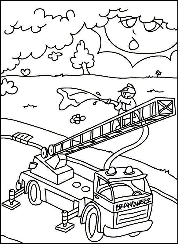 Ausmalen Feuerwehr Ausmalbilder Pinterest Feuerwehr Ausmalen