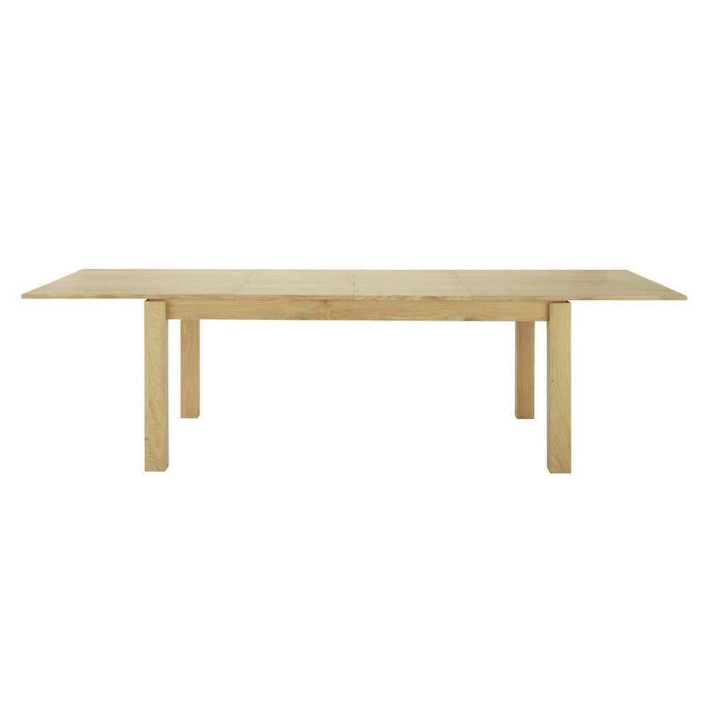 À Extensible 812 Manger Personnes L200300Salle Table 0OPknw8