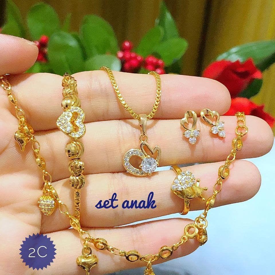 125k Menjual Perhiasan Xuping, lapis emas 24 karat dan ...