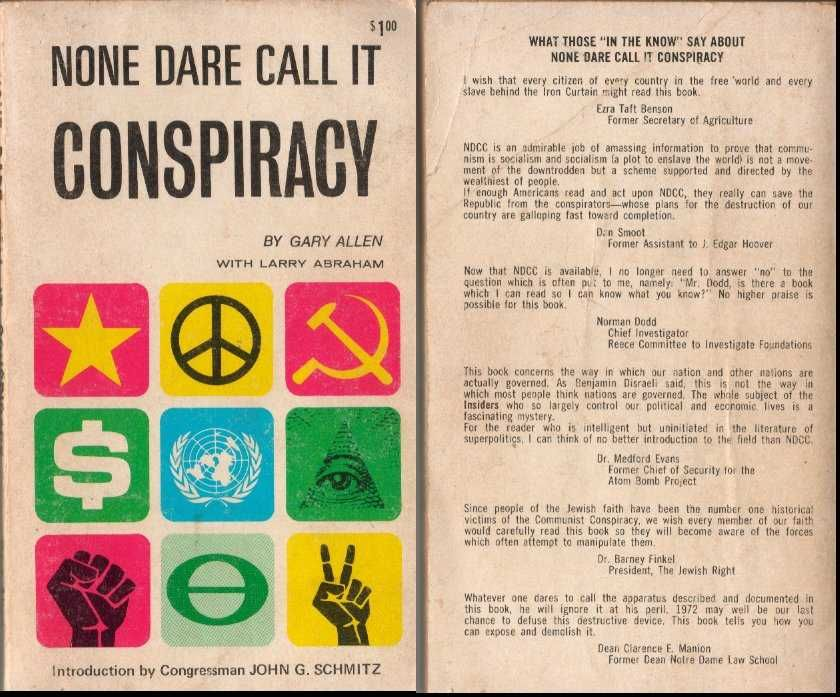 Image result for none dare call it conspiracy pdf