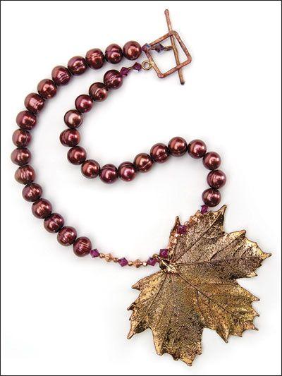 Beading - Jewelry Patterns - Necklace Patterns - Winter Radiance Necklace