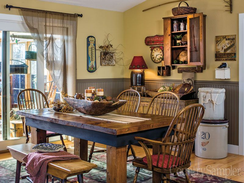 Relax and enjoy country decorating ideas and