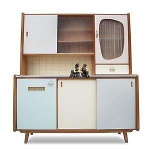 Küchenschrank Modern details zu vintage küchenschrank midcentury 50er 60er jahre