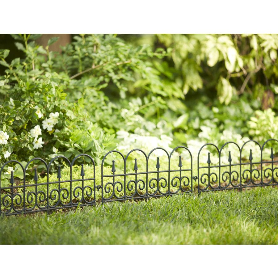 Shop 13.2-in H x 24-in L Fence Border Fence at Lowes.com | Spring ...