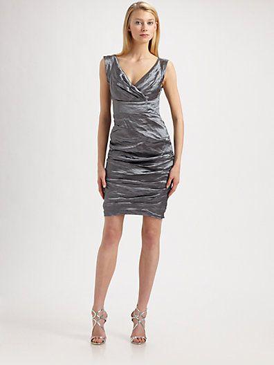Nicole Miller - Metallic Dress - Saks.com