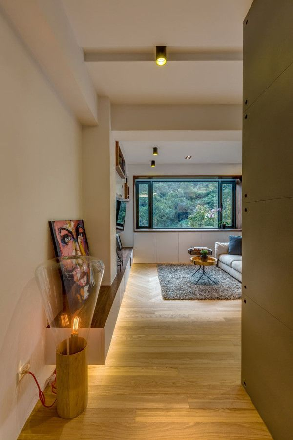 A 40 Year Old Apartment In Taipei Gets A Modern Intervention Apartment Renovation Apartment Interior Design Old Apartments