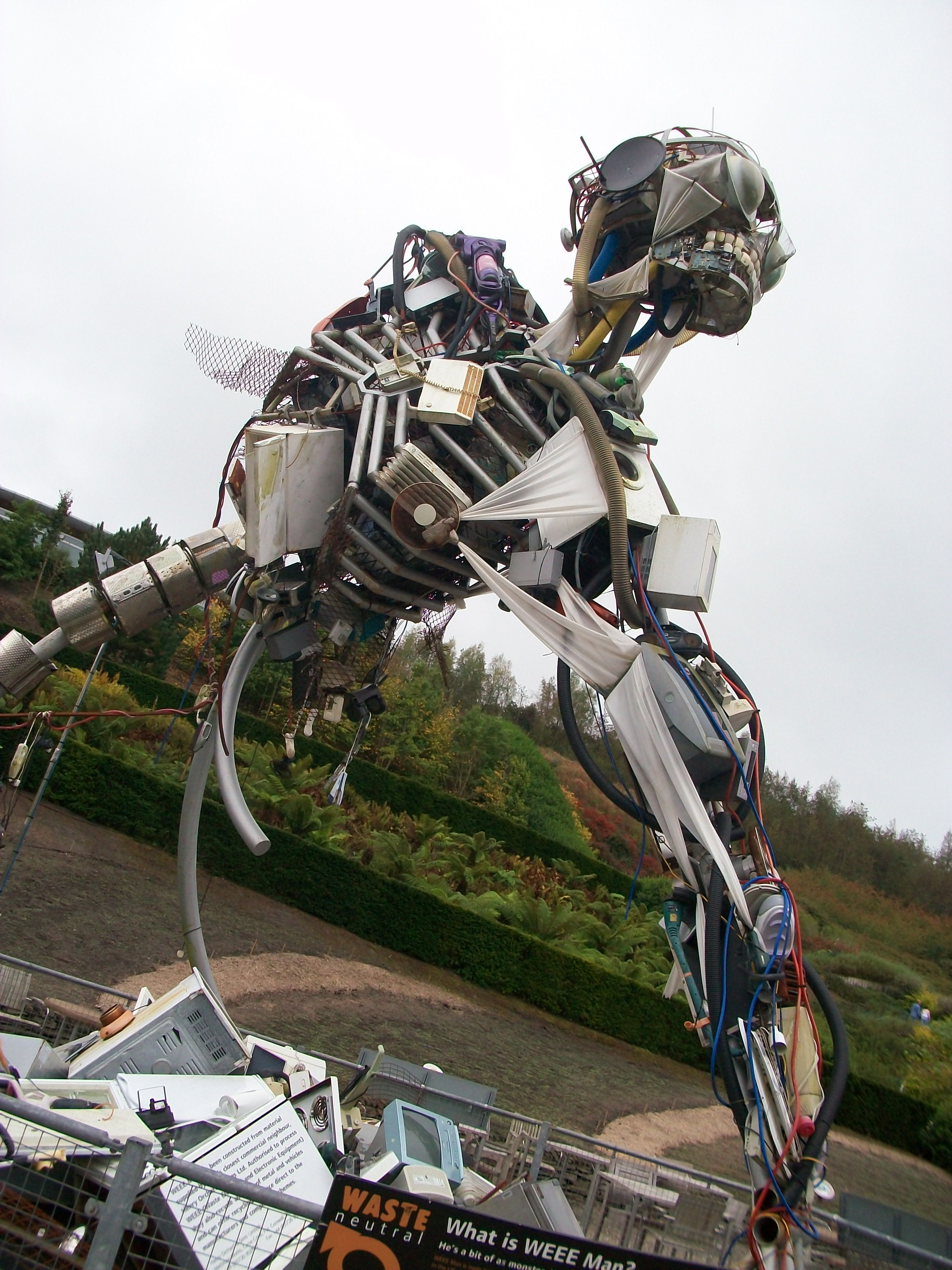 Eden Project Recycled Sculpture Artwork Art Public Art