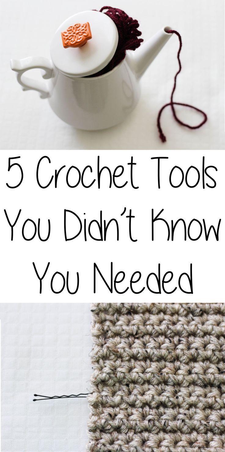 5 Crochet Tools You Didn\'t Know You Needed | Punto de crochet ...