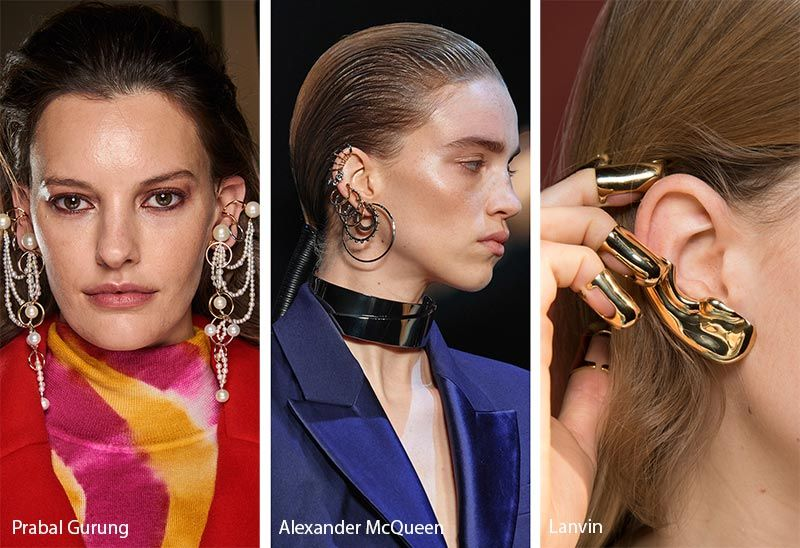 Necklace Trends 2020.Fall Winter 2019 2020 Accessory Trends Fashion Jewelry