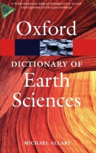 Oxford Dictionary Of Earth Sciences Earth Science Science Oxford Dictionaries