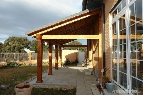 Bildresultat för tejado terraza porch Pinterest Porch