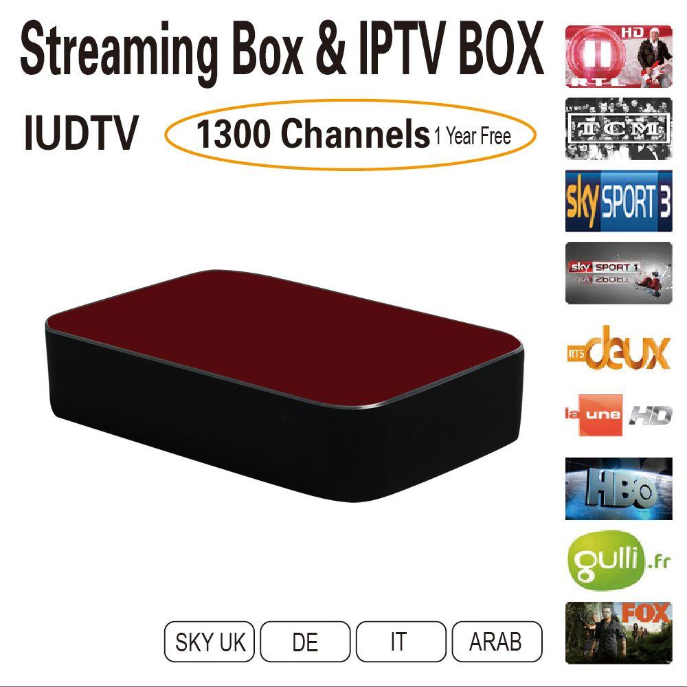 $116.26 (Buy here: http://appdeal.ru/dlrs ) 12 months IPTV Deutsch Iptv UK Italy IPTV Streaming Box Multi Streaming Sever Stalker Middleware Better Than Mag254 Mag250 for just $116.26