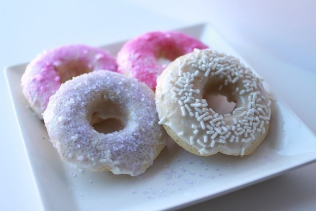 Vanilla Donuts & it's BAKED not DEEP FRIED!