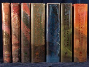 Complete Book Set Of The Harry Potter Series Used New Paperback