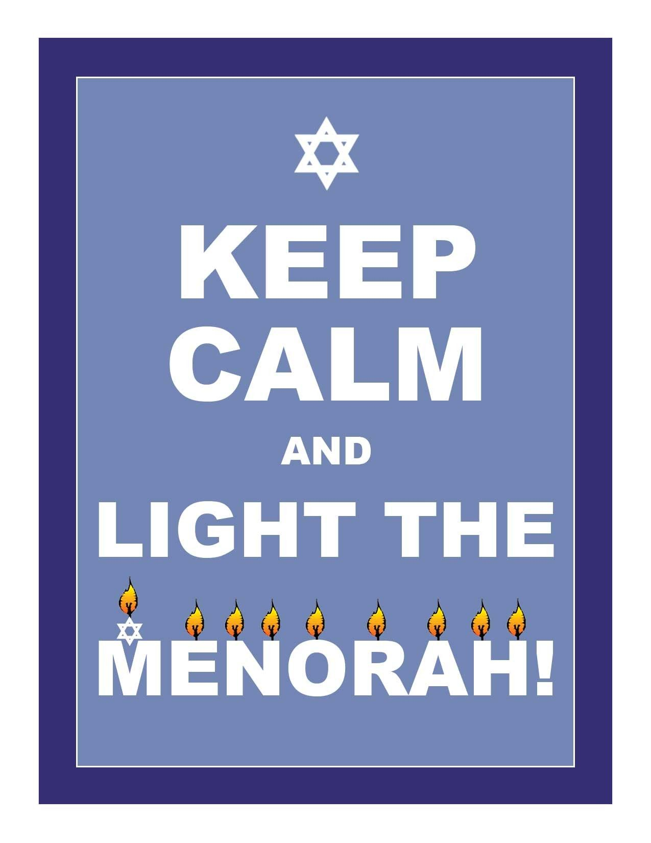 1055 Hanukkah Menorah May Your Home Be Filled With Peace