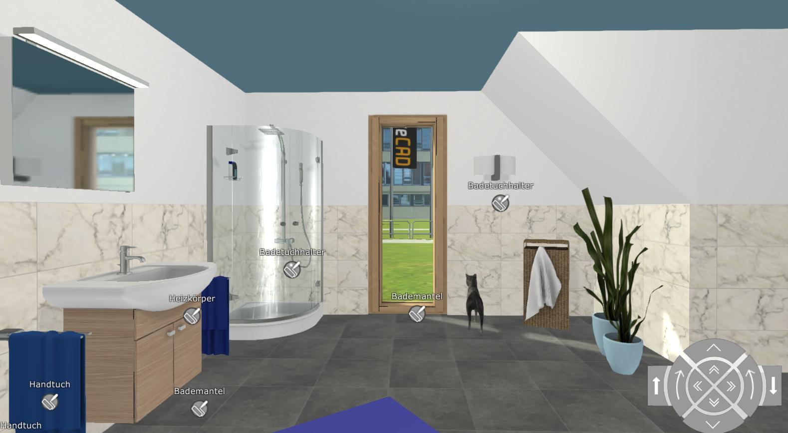 Individuelle Räume maßgetreu mit unserer kostenlosen App darstellen ...