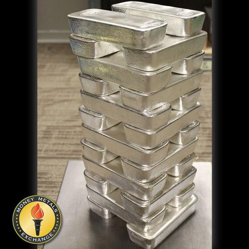 100oz Silver Bars Anyone Moneymetals In 2020 Silver Bars Silver Dollar Coin Gold Bullion