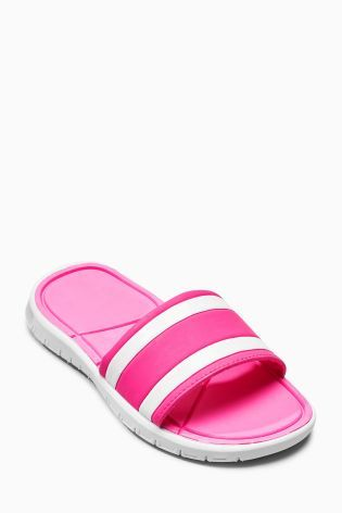 47b12769c234 Pink Sporty Slider (Older Girls)