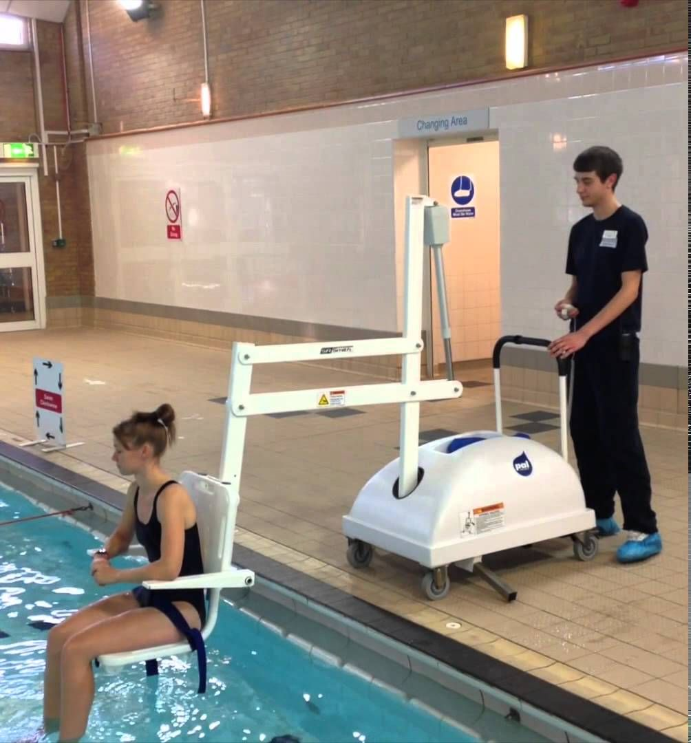 Pal Pool Lift Supplied By Dolphin Lifts Healthcare Design