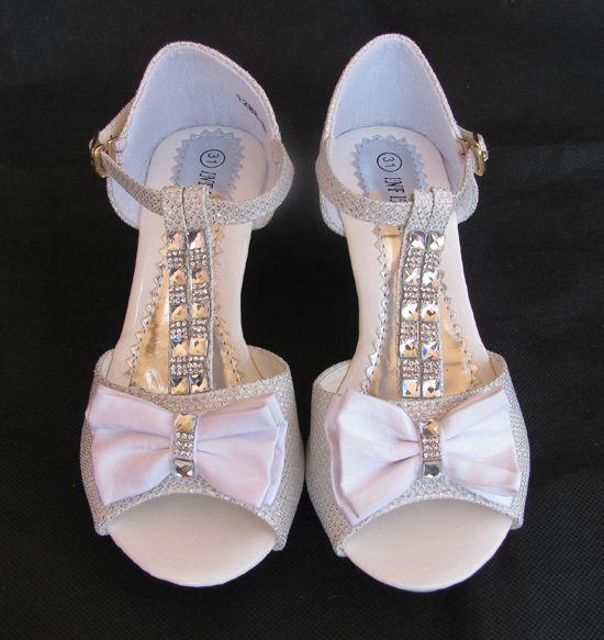 54149db632e ... χρήστη E-shop memoirs. Παπούτσια για Παρανυφάκια - Επίσημα Παπούτσια  για Κορίτσια :: Παιδικά Σανδάλια Με Τακούνια σε ΛΕΥΚΟ