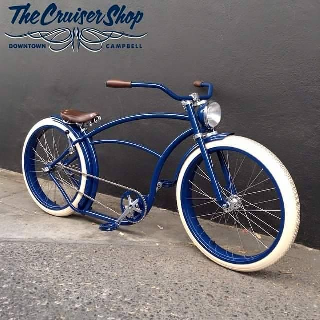 Blue Beauty From The Cruiser Out In California Velo Beach Custom