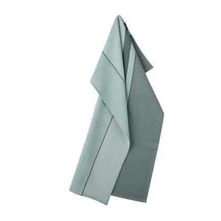 Nors koppehåndkle, sea green, Bent Georg Jensen, Georg Jensen Damask