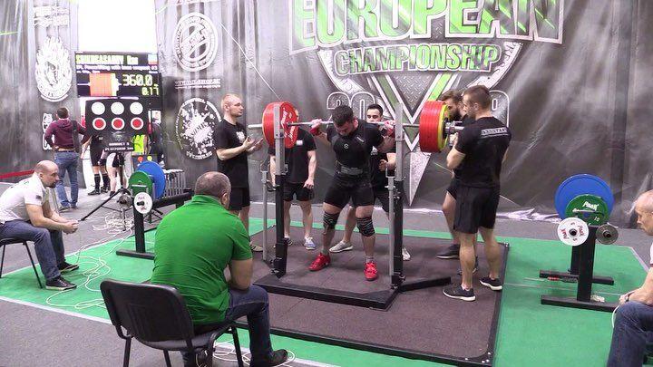 c785793bdc Shikhgasanov Ramazan 880kg @ 90kg Squat with knee wraps: 360kg Bench press: 220kg  Deadlift
