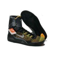 27ae69662071 Nike 641714 002 Kobe 9 Elite High-Top black yellow men shoes