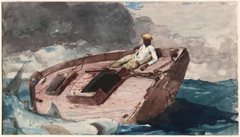 The Gulf Stream Winslow Homer Paintings Winslow Homer Toledo