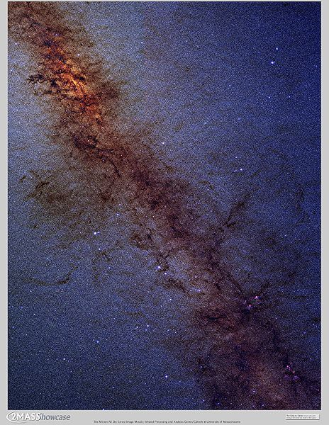 The galactic core of the Milky Way Galaxy