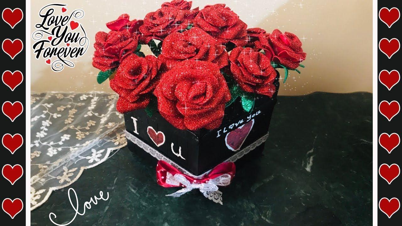 أجمل هديه لعيد الحب وعيد الام من صنع ايديكي وبمنتهى السهوله ورد بلدى Raspberry Fruit