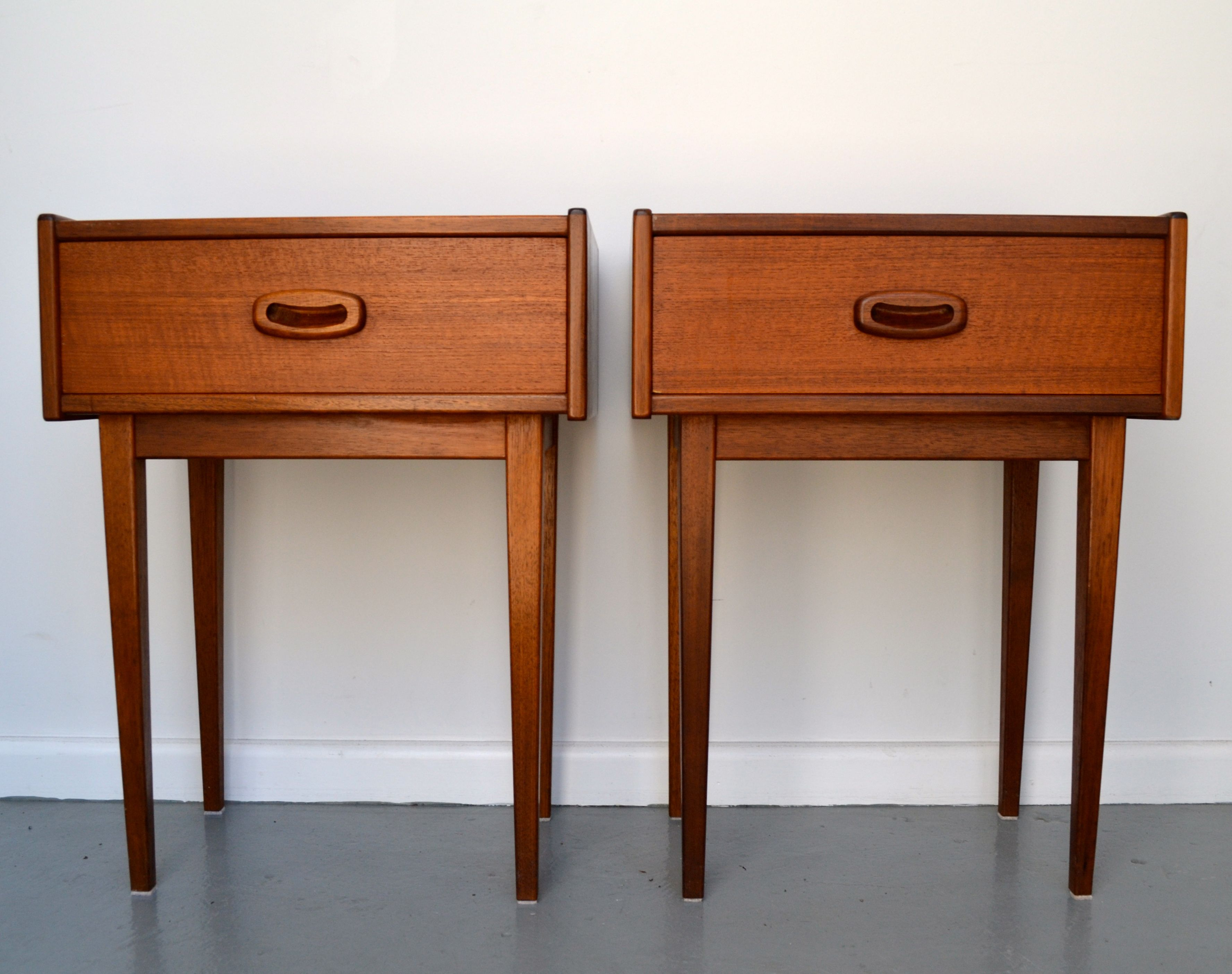 Parker Teak 60 S Bedside Tables Www Tangerineandteal Com Parker Furniture Furniture Retro Furniture