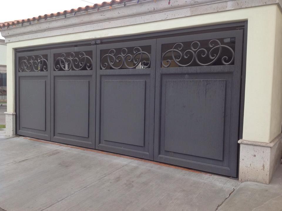 Pin de adriana torres en portones pinterest cochera for Puertas de metal para interiores