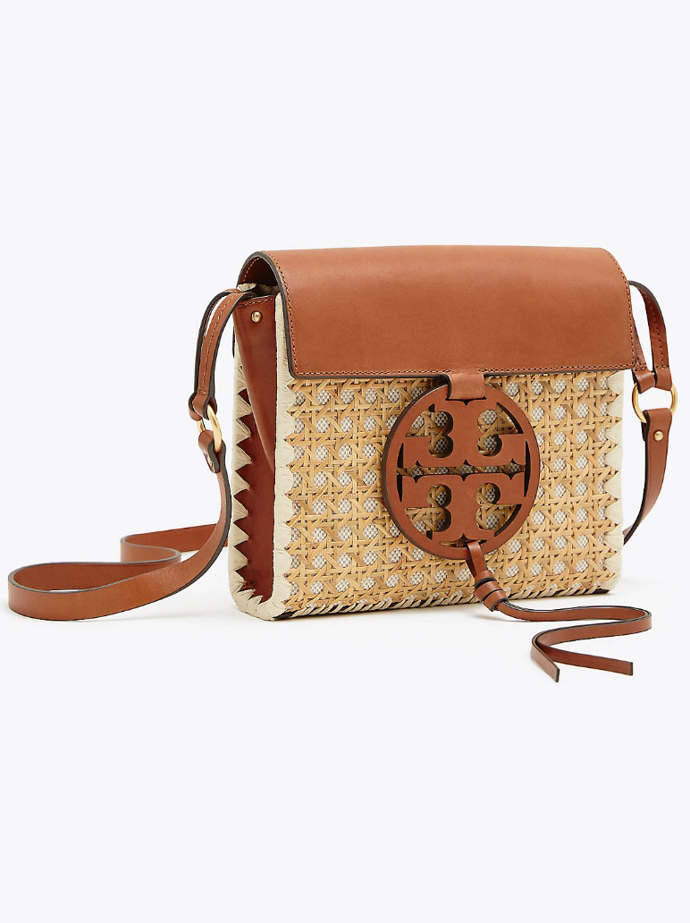ceb787e066ae Miller rattan cross-body in 2019 | Resort 2019 | Tory burch, Brown ...