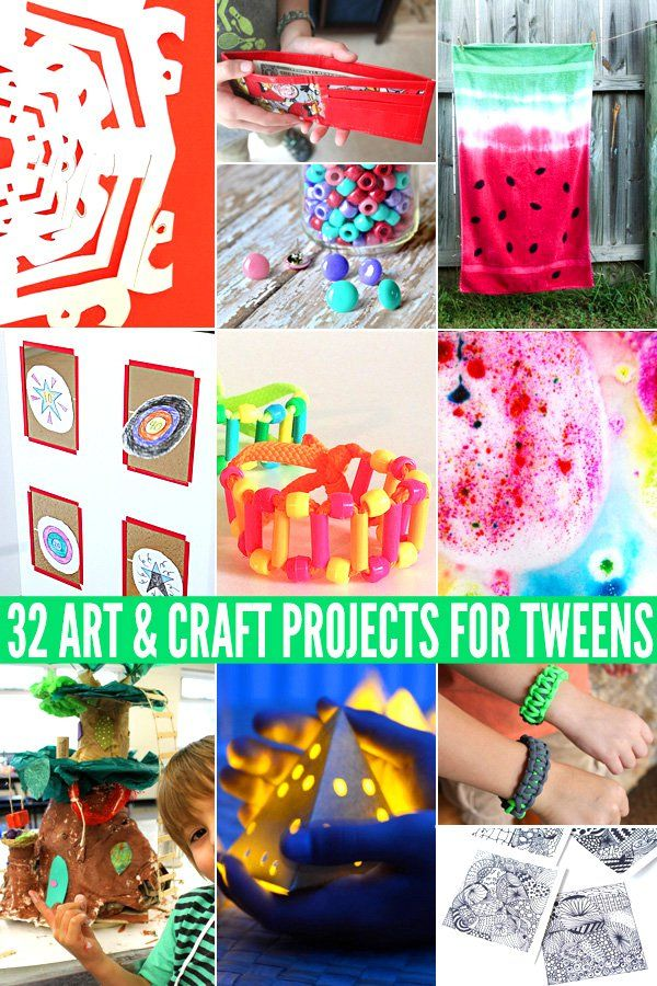 32 awesome art craft projects for tweens other arts for Diy projects for tweens