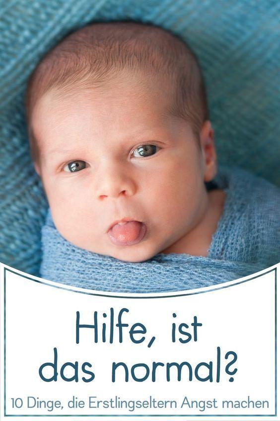 10 Dinge, mit denen uns Neugeborene Angst machen ...