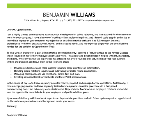 Cover Letter Template  HttpSyracusejobsmatterComAll