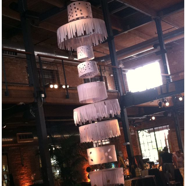Hanging paper chandelier paper pinterest paper chandelier hanging paper chandelier aloadofball Gallery