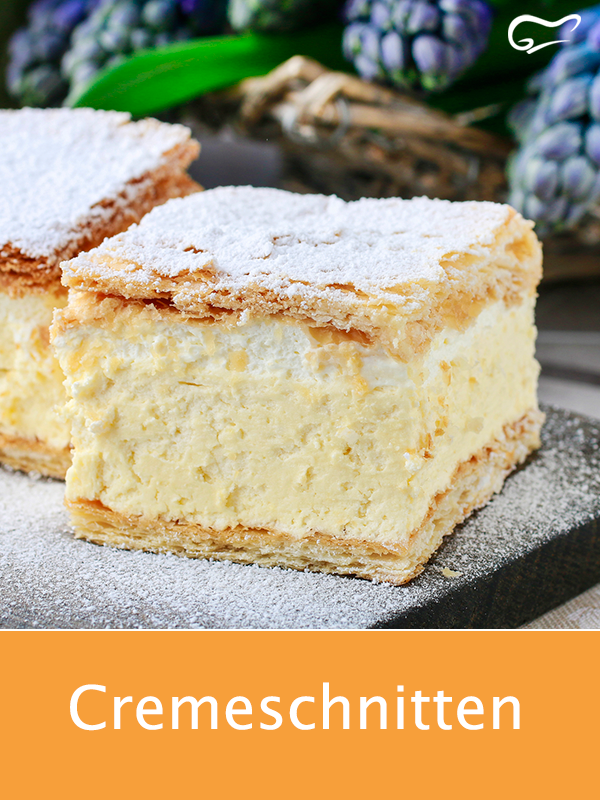 Photo of These cream slices taste heavenly. A recipe worth trying …